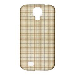 Plaid 7 Samsung Galaxy S4 Classic Hardshell Case (PC+Silicone)