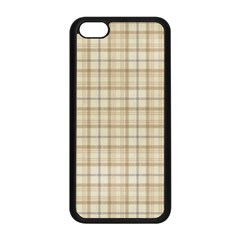 Plaid 7 Apple Iphone 5c Seamless Case (black)