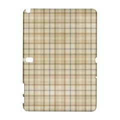 Plaid 7 Samsung Galaxy Note 10.1 (P600) Hardshell Case