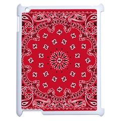 Bandana Apple iPad 2 Case (White)