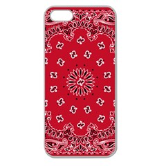 Bandana Apple Seamless Iphone 5 Case (clear)