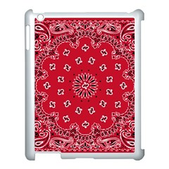 Bandana Apple Ipad 3/4 Case (white)