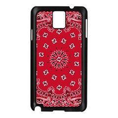 Bandana Samsung Galaxy Note 3 N9005 Case (Black)