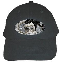 Venetian Mask Black Baseball Cap