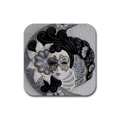 Venetian Mask Drink Coaster (square)