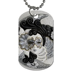 Venetian Mask Dog Tag (two Sided)