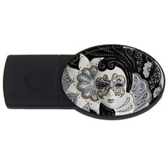 Venetian Mask 1GB USB Flash Drive (Oval)