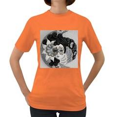 Venetian Mask Women s T-shirt (Colored)