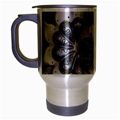 Venetian Mask Travel Mug (silver Gray)
