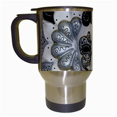 Venetian Mask Travel Mug (white)