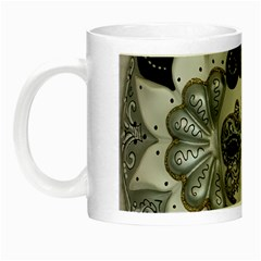 Venetian Mask Glow In The Dark Mug