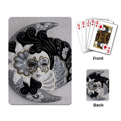 Venetian Mask Playing Cards Single Design