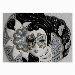 Venetian Mask Glasses Cloth (Large, Two Sided)
