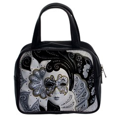 Venetian Mask Classic Handbag (two Sides)