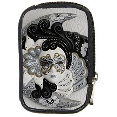 Venetian Mask Compact Camera Leather Case