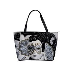 Venetian Mask Large Shoulder Bag
