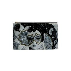 Venetian Mask Cosmetic Bag (Small)
