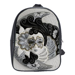 Venetian Mask School Bag (large)