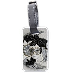 Venetian Mask Luggage Tag (Two Sides)