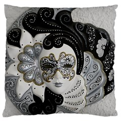 Venetian Mask Large Cushion Case (two Sided)