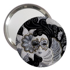 Venetian Mask 3  Handbag Mirror