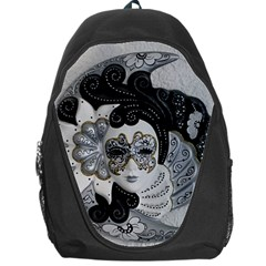 Venetian Mask Backpack Bag