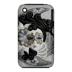 Venetian Mask Apple iPhone 3G/3GS Hardshell Case (PC+Silicone)