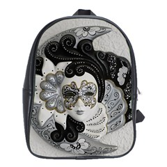 Venetian Mask School Bag (xl)