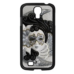 Venetian Mask Samsung Galaxy S4 I9500/ I9505 Case (Black)