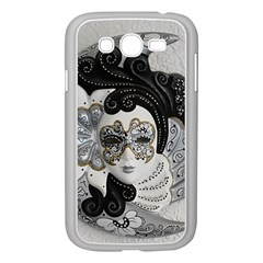 Venetian Mask Samsung Galaxy Grand DUOS I9082 Case (White)