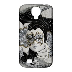 Venetian Mask Samsung Galaxy S4 Classic Hardshell Case (PC+Silicone)