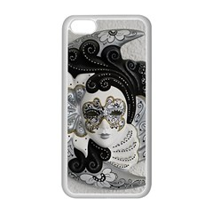 Venetian Mask Apple Iphone 5c Seamless Case (white)