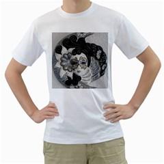 Venetian Mask Men s T-Shirt (White)