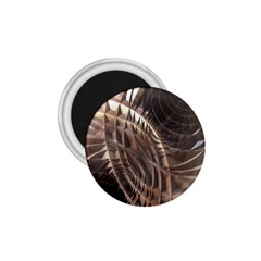 Abstract Copper Metallic Texture 1.75  Magnet