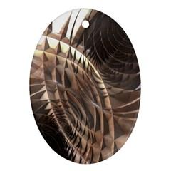 Copper Metallic Ornament (oval)