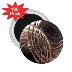 Copper Metallic 2 25  Magnet (100 Pack)