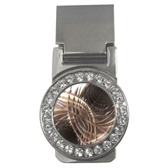 Copper Metallic Money Clip (cz)