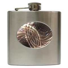 Copper Metallic Hip Flask (6 oz)