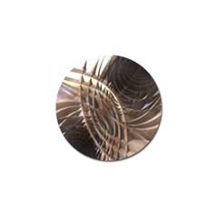 Copper Metallic Golf Ball Marker (4 Pack)