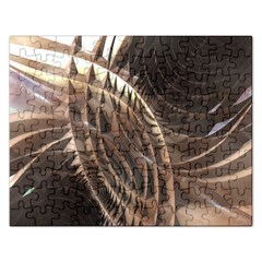 Copper Metallic Jigsaw Puzzle (Rectangular)