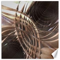 Copper Metallic Canvas 20  X 20