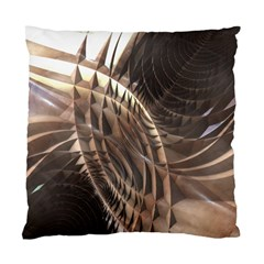 Abstract Copper Metallic Texture Standard Cushion Case (Two Sides)