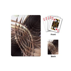 Copper Metallic Playing Cards (mini)