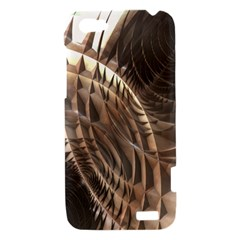 Copper Metallic Texture Abstract HTC One V Hardshell Case