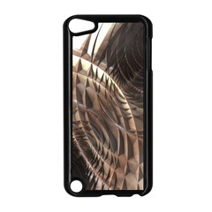 Copper Metallic Texture Abstract Apple iPod Touch 5 Case (Black)