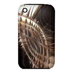 Copper Metallic Texture Abstract Apple iPhone 3G/3GS Hardshell Case (PC+Silicone)
