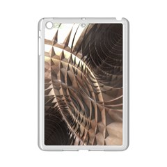 Copper Metallic Texture Abstract Apple iPad Mini 2 Case (White)