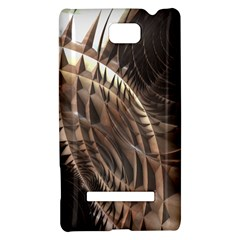 Copper Metallic Texture Abstract HTC 8S Hardshell Case