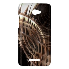 Copper Metallic Texture Abstract HTC Butterfly X920E Hardshell Case