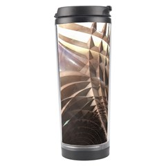 Copper Metallic Texture Abstract Travel Tumbler